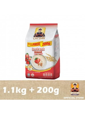 Captain Oats - Instant Foil Pack 1.1kg + 200g [Essential]