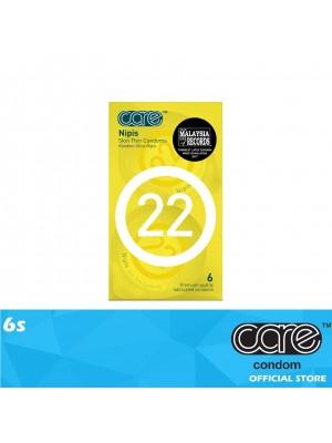 Care 22 Nipis Condom 6s