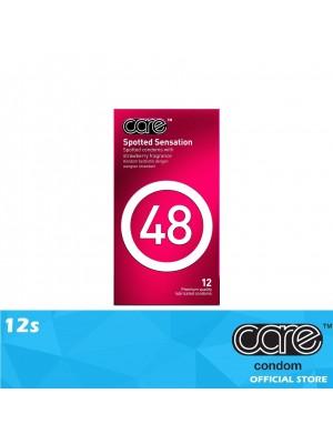 Care 48 Spotted Sensation Condom 12s