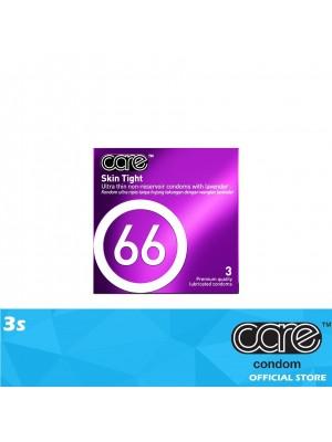 Care 66 Skin Tight Condom 3s