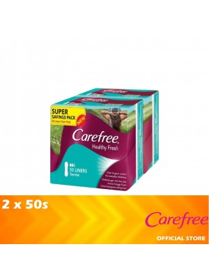 Carefree Healthy Fresh Tea Tree Twin Pack 2 x 50's [MUST BUY]