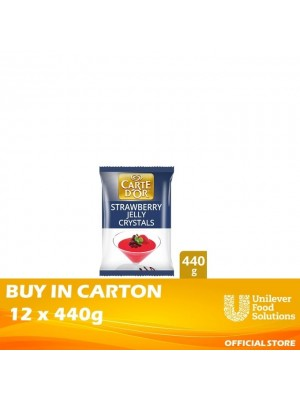 Carte d'Or Jelly Crystals - Strawberry Carte d'Or 12x440g