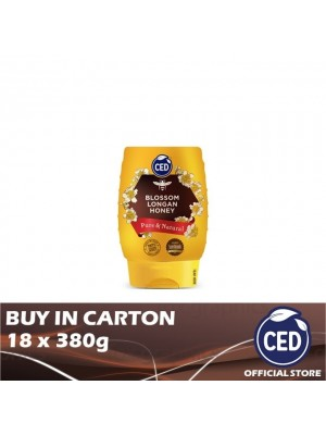 CED Blossom Longan Honey 18 x 380g