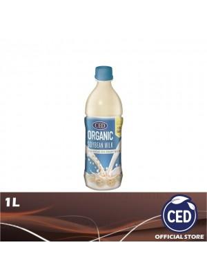 CED Organic Soybean Milk Less Sugar 1L