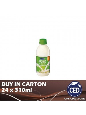 CED Organic Soybean Milk No Sugar Added 24 x 310ml