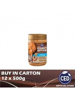 CED Peanut Butter Creamy 12 x 500g
