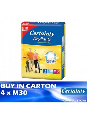 Certainty Drypants Jumbo Pack 4 x M30