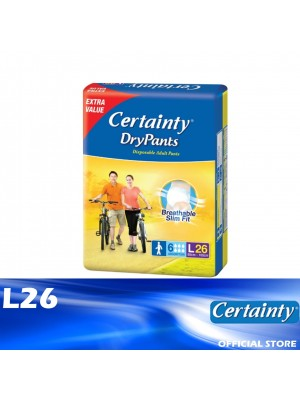 Certainty Drypants Jumbo Pack L26