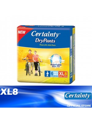 Certainty Drypants XL8