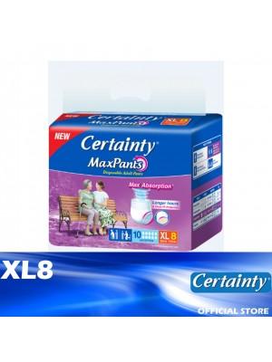 Certainty Maxpants XL8