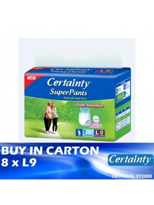 Certainty Superpants 8 x L9