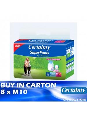 Certainty Superpants 8 x M10