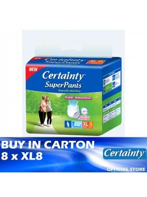 Certainty Superpants 8 x XL8