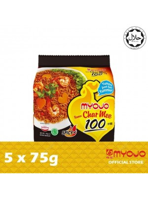 7. Myojo Fried Noodle Specialist - Char Mee 100 5 x 75g {EXP : 07/2021} (MUST BUY)