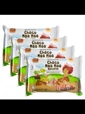 Lee Biscuit Choco Moo Moo Biscuits 4x160g
