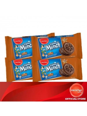 Munchy's Captain Munch Chocolate Cream 4x165g
