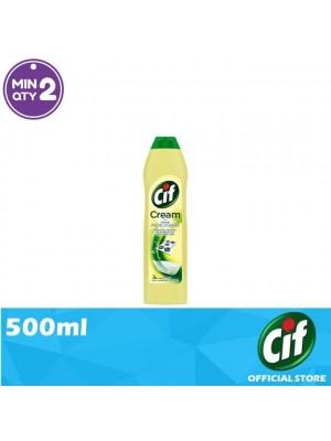 Cif Cream Lemon Multi Surface Cleaner 500ml [Covid-19]