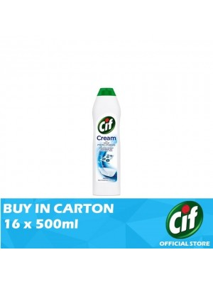 Cif Cream Original Multi Surface Cleaner 16 x 500ml