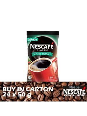 Nestle Nescafe Dark Roast Refill Pack 24 x 50g