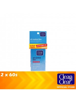 Clean & Clear Oil Control Film Twin Pack 2 x 60s