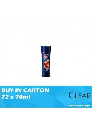 Clear Men Shampoo Anti Hair Fall 72 x 70ml