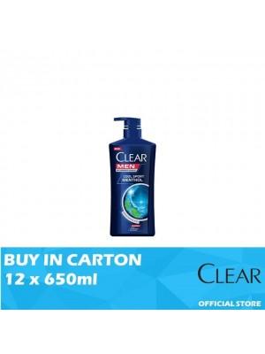 Clear Men Shampoo Cool Sport Menthol 12 x 650ml