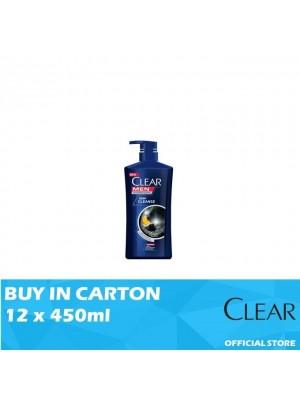 Clear Men Shampoo Deep Cleanse 12 x 450ml