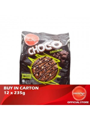 Munchy's Chocolate-O Cookies Original 12x235g