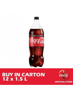 Coca-Cola Tanpa Kalori PET 12 x 1.5L [Essential]