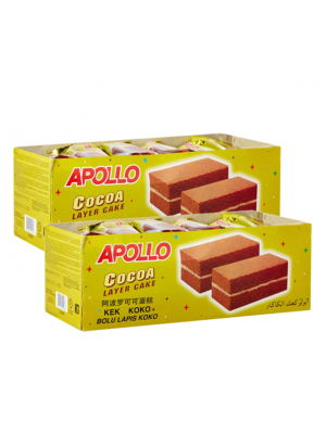 Apollo Cocoa Layer Cake 2x24s