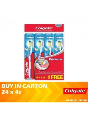 Colgate Extra Clean Toothbrush Medium Valuepack 24 x 4s