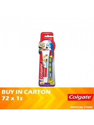 Colgate Kids Minion Toothpaste 40g + Toothbrush 5-9 Years Valuepack 72 x 1s