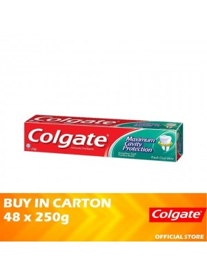 Colgate Maximum Cavity Protection Fresh Cool Mint Toothpaste 48 x 250g