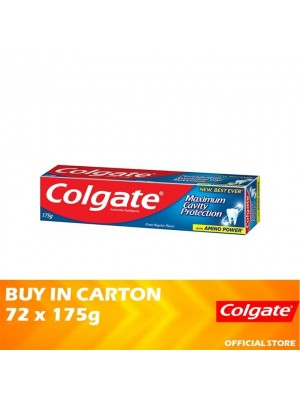 Colgate Maximum Cavity Protection Great Regular Flavour Toothpaste 72 x 175g