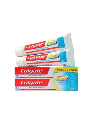 Colgate Total Advanced Fresh Anticavity Toothpaste 2 x 150g
