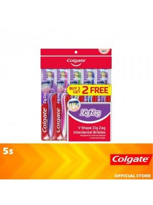 Colgate ZigZag Toothbrush Soft Valuepack 5s