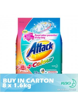 Attack Powder Detergent Concentrate Colour Ultra (ATC) 1.6kg