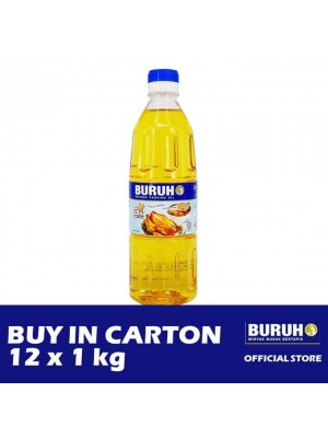 Buruh (Labour) Refined Cooking Oil 12 x 1kg