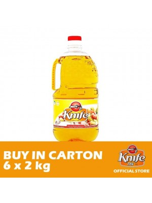 Knife Cooking Oil 6 x 2kg