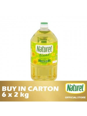 Naturel Blend Cooking Oil 6 x 2kg