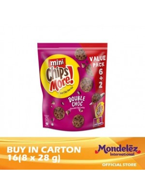 Chipsmore Double Choco Handy 16[Multi-Pack 8 x 28g]