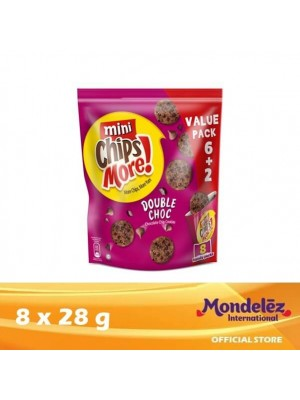 Chipsmore Double Choco Handy [Multi-Pack 8 x 28g] [Essential]