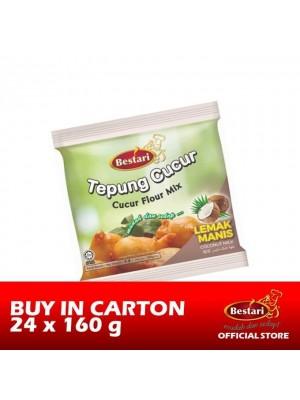 Bestari Cucur Flour Mix - Coconut Milk 24 x 160g [Essential]