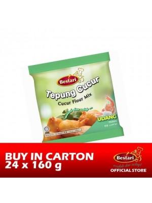 Bestari Cucur Flour Mix - Prawn 24 x 160g
