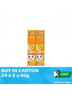 Darlie Bunny Kids Orange Flavour Toothpaste 24 x 2 x 40g