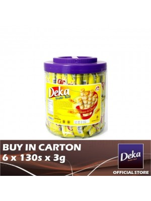 Deka Canister Cheese 6 x 130s x 3g