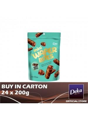 Deka Mini Wafer Bites ChocoChoco 24 x 200g [Essential]