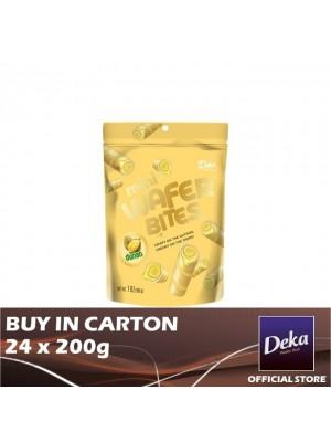 Deka Mini Wafer Bites Durian 24 x 200g [Essential]