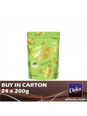Deka Mini Wafer Bites Matcha 24 x 200g