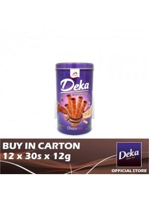 Deka Wafer Roll Choco Nut (Can) 12 x 30s x 12g